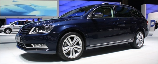 Parijs 2010: Nieuwe Volkswagen Passat