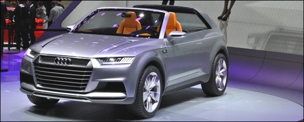 Parijs 2012 Audi Crosslane Coupe Concept