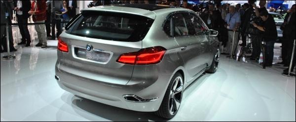 BMW Concept Active Tourer Parijs 2012