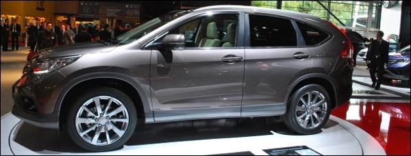 Parijs 2012 Honda CRV
