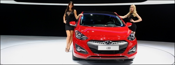 Hyundai i30 driedeurs Parijs 2012