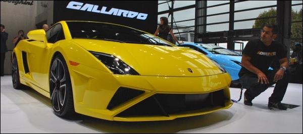 Parijs 2012 Lamborghini Gallardo LP560-4