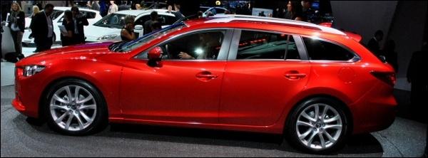 Mazda6 Sportbreak Parijs 2012