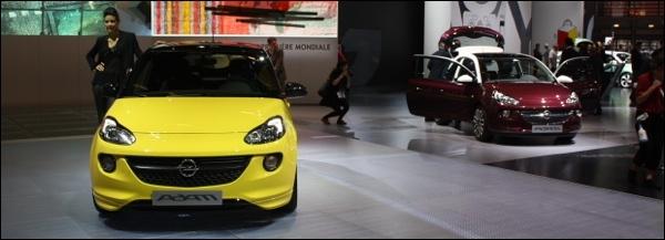 Opel Adam Parijs 2013