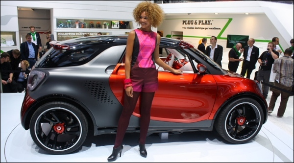 Paris 2012 Smart ForStars Concept