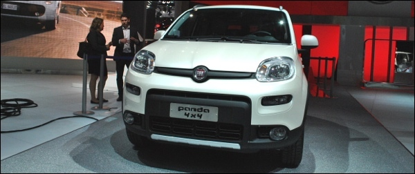 Paris 2012 Fiat Panda 4x4