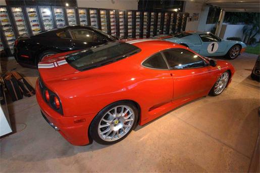 Supercar garages