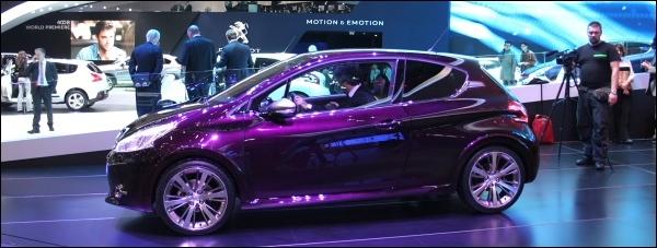 Peugeot 208 XY Geneve 2012