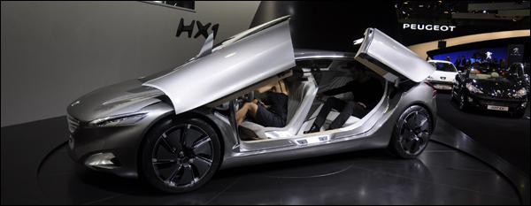Peugeot autosalon brussel