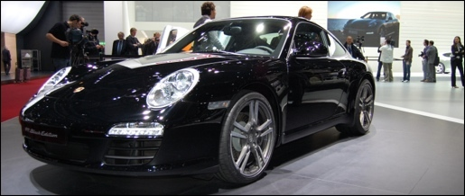 Porsche 911 Black Edition Geneva