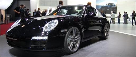 Porsche 911 Black Edition Geneva