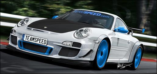 Porsche 911 997 GT3 RS Limeted Edition 4 liter