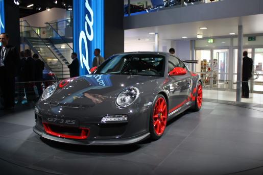 Frankfurt 2009: Porsche 911 GT3 RS