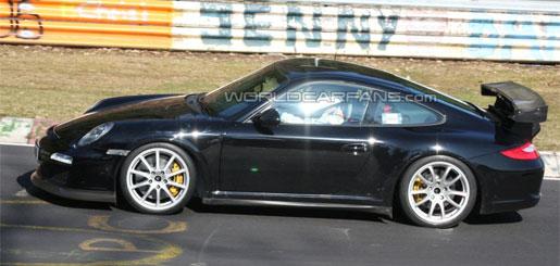 Porsche 911 GT3 RS spyshots