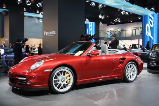 Frankfurt 2009 Porsche 911 Turbo Facelift