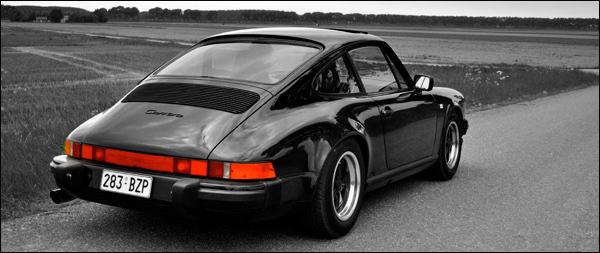 Porsche 911 Header
