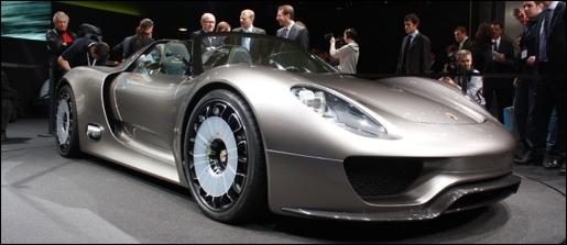 Porsche 918 Spyder Concept Geneva