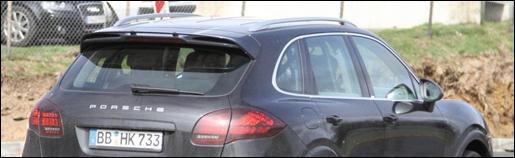 Spyshots Porsche Cayenne Turbo S