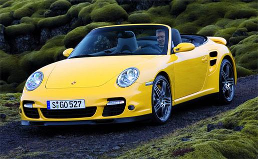 Porsche 911 997 Turbo Cabriolet