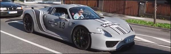 Porsche 911 Targa 918 Spyder