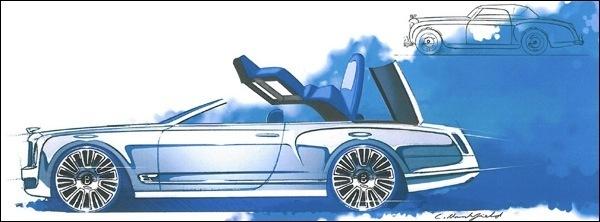 Bentley Mulsanne Convertible Cabrio