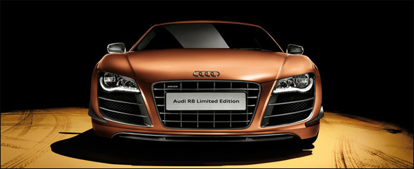 audi R8 limited edition China