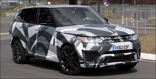 Spyshots: Range Rover Sport RS