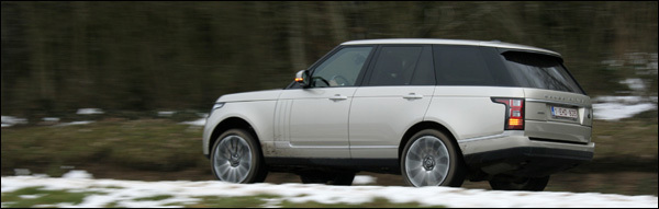 Range Rover test 2013