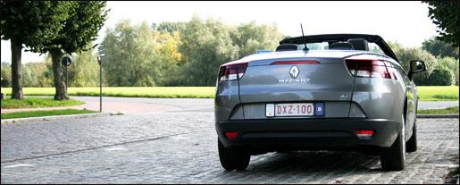 Renault Megane CC Rijtest