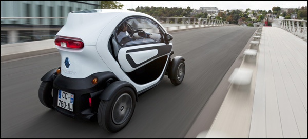 Renault Twizy Deuren