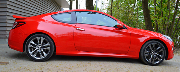 Rijtest Hyundai Genesis Coupé 2.0T 2013