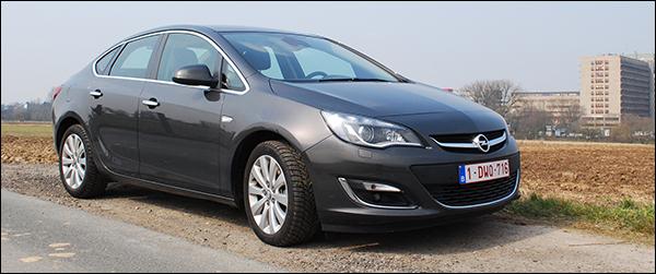 Rijtest: Opel Astra Sports Sedan 1.7 CDTI