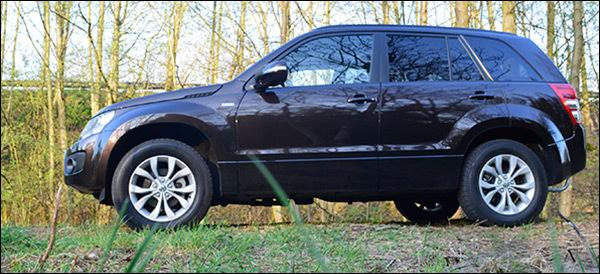 Rijtest Suzuki Grand Vitara 1.9 DDiS