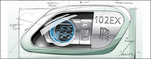 Rolls-Royce 102EX Elektrische Phantom