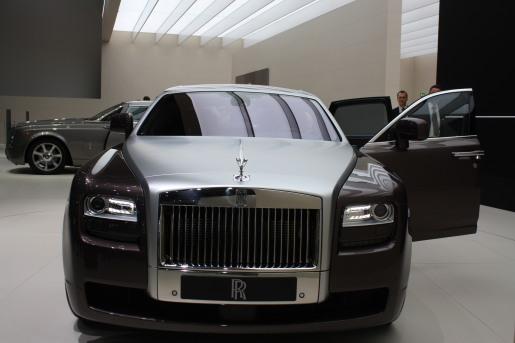Frankfurt 2009 Rolls-Royce Ghost