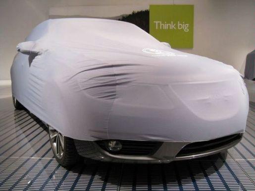 Saab 9-5 teaser