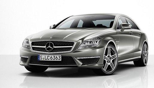 Gelekt Mercedes CLS63 AMG