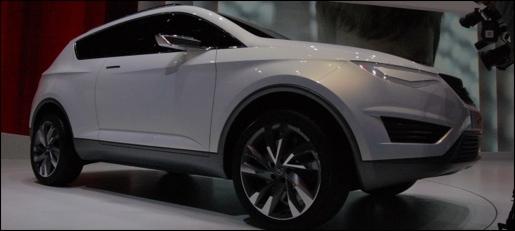 Seat IBX Concept Geneva