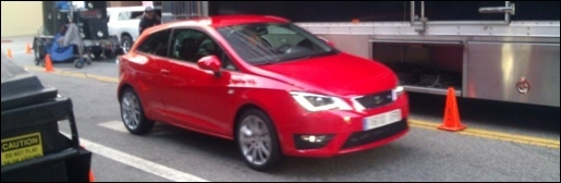 Seat Ibiza Facelift Spyshots
