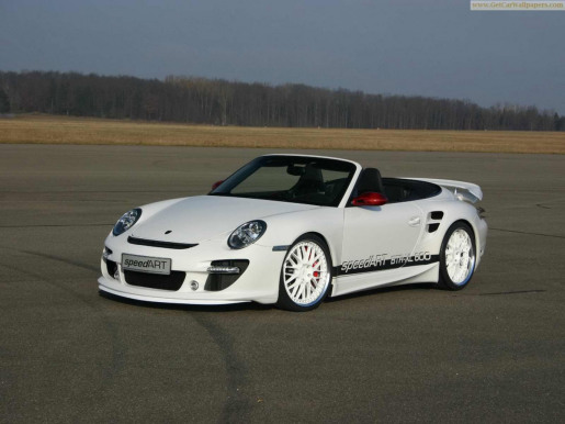 SpeedART BTR-XL 600 Porsche 911 Turbo Cabrio