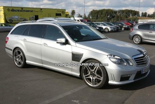 Spyshots: Mercedes E63 AMG Break