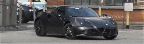 Spyshots Alfa Romeo 4C 2013