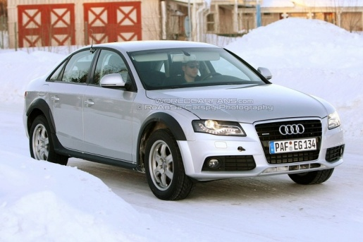 Spyshots: Audi A4 Allroad Quattro