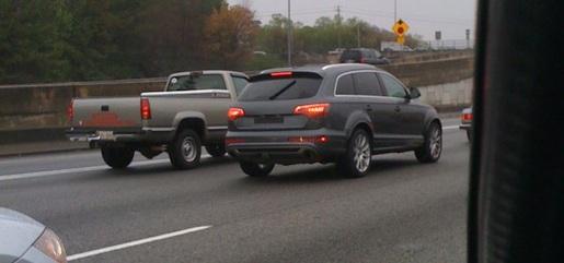 Spyshots: Audi Q7 Facelift