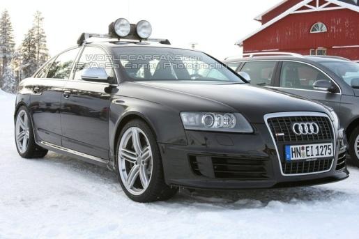 Spyshots Audi RS6 Sedan