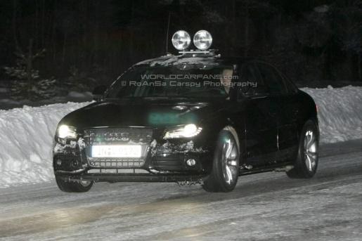 Spyshots: Audi S4