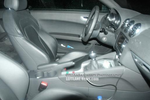 Spyshots: Audi TT-RS