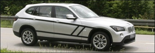 Spyshots: BMW X1 Grijs
