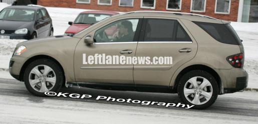 Spyshots: Mercedes ML320 Hybride