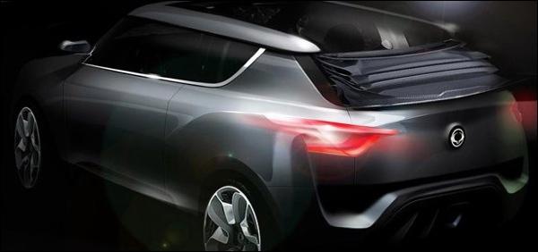 SsangYong XIV-2 Cabrio-SUV Concept